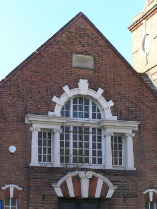 Detail of the Venetian window | David Noble